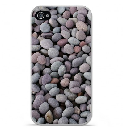 Coque en silicone Apple iPhone 4 / 4S - Galets