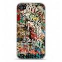 Coque en silicone Apple iPhone 4 / 4S - Graffiti 1