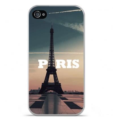 Coque en silicone Apple iPhone 4 / 4S - Paris