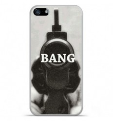 Coque en silicone Apple IPhone 5 / 5S - Bang