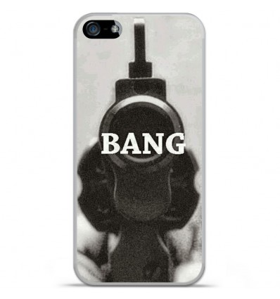 Coque en silicone Apple IPhone 5 / 5S - Bang