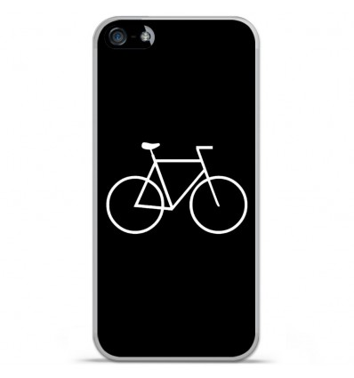 Coque en silicone Apple IPhone 5 / 5S - Bike Hipster