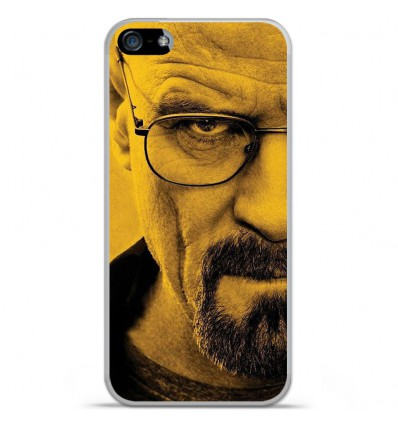 Coque en silicone Apple IPhone 5 / 5S - Breaking Bad