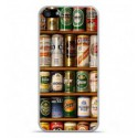Coque en silicone Apple iPhone 5 / 5S - Canettes