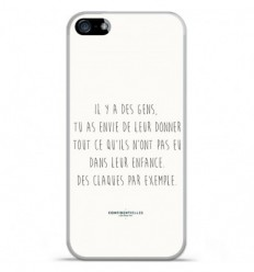 Coque en silicone Apple IPhone 5 / 5S - Citation 01