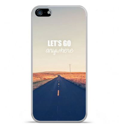 Coque en silicone Apple IPhone 5 / 5S - Citation 03