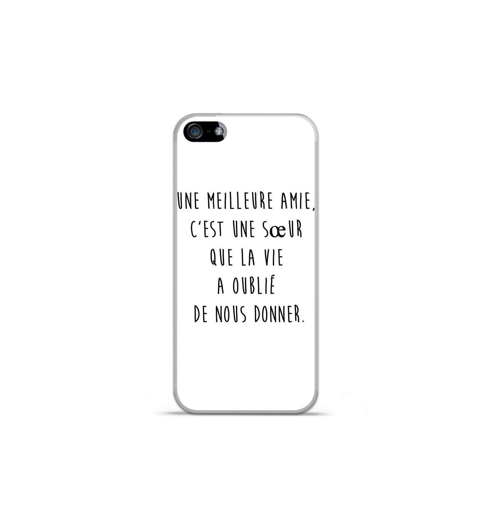 coque iphone x avec citation