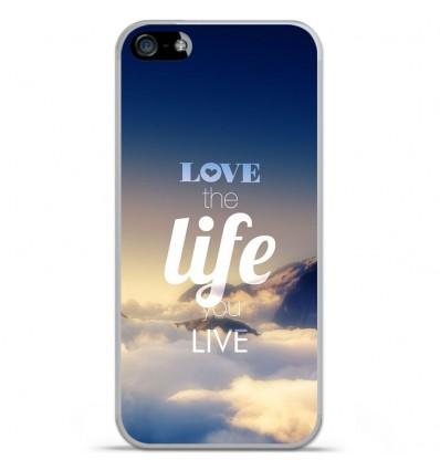 Coque en silicone Apple iPhone 5 / 5S - Citation 06