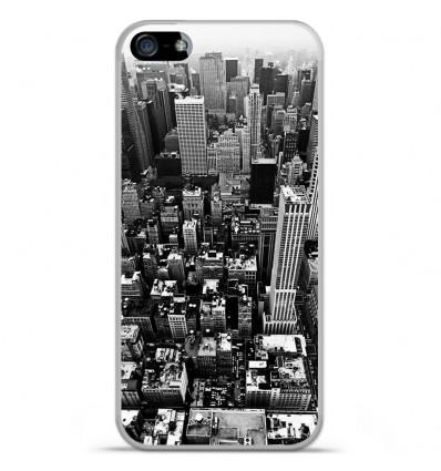 Coque en silicone Apple iPhone 5 / 5S - City