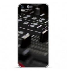 Coque en silicone Apple IPhone 5 / 5S - Dj Mixer