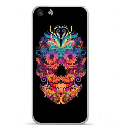 Coque en silicone Apple IPhone 5 / 5S - Masque carnaval