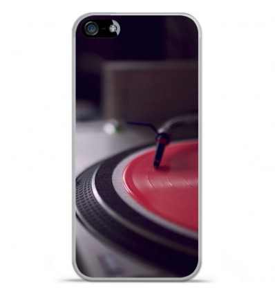 Coque en silicone Apple IPhone 5 / 5S - Platine