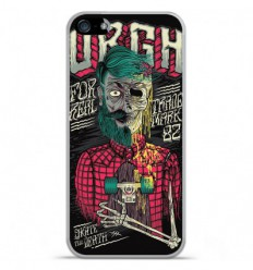 Coque en silicone Apple IPhone 5 / 5S - Skull Urgh