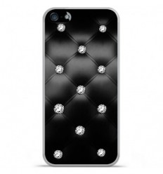 Coque en silicone Apple IPhone 5 / 5S - Strass