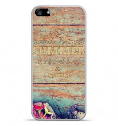 Coque en silicone Apple IPhone 5 / 5S - The best summer