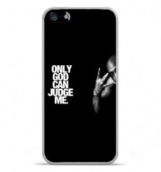 Coque en silicone Apple IPhone 5 / 5S - Tupac