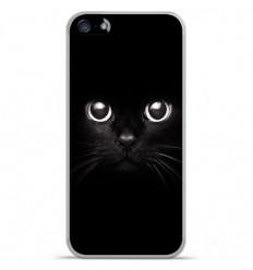 Coque en silicone Apple IPhone 5 / 5S - Yeux de chat