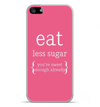 Coque en silicone Apple iPhone 5C - Citation 15