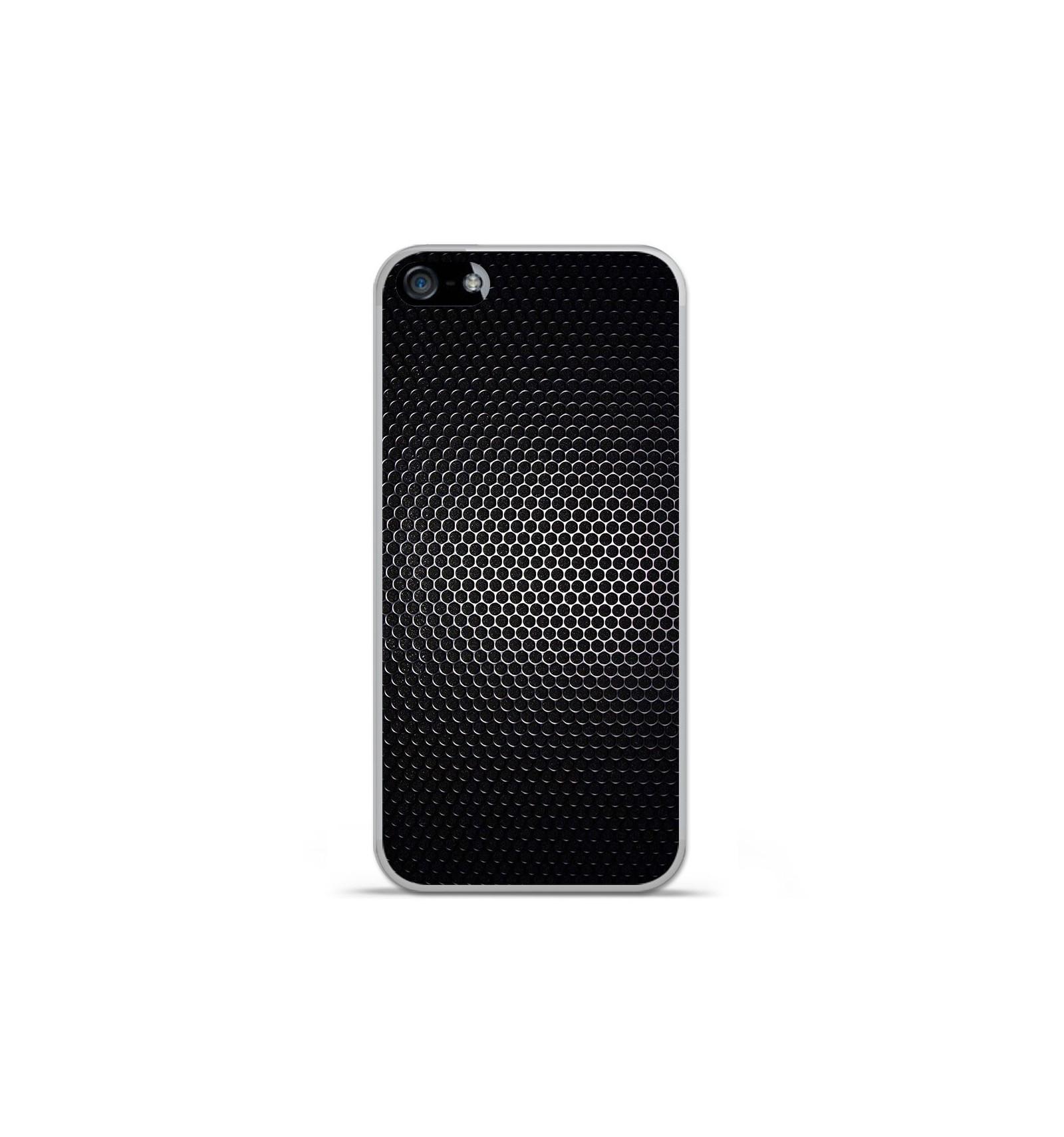 Coque en silicone Apple iPhone 5C - Dark Metal