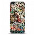 Coque en silicone Apple iPhone 5C - Graffiti 1