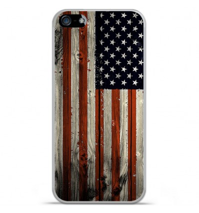 Coque en silicone Apple iPhone 5C - USA Hood