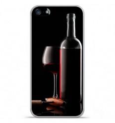Coque en silicone Apple iPhone 5C - Vin