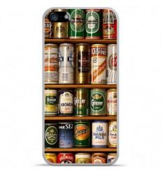 Coque en silicone Apple iPhone SE - Canettes