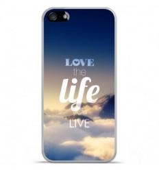 Coque en silicone Apple iPhone SE - Citation 06