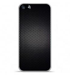 Coque en silicone Apple iPhone SE - Dark Metal
