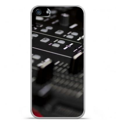 Coque en silicone Apple iPhone SE - Dj Mixer
