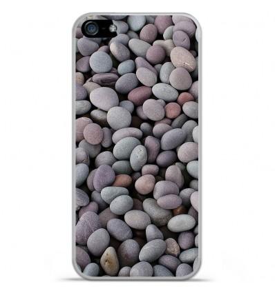 Coque en silicone Apple iPhone SE - Galets