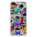 Coque en silicone Apple iPhone SE - Graffiti 2