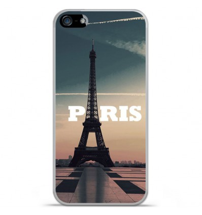 Coque en silicone Apple iPhone SE - Paris