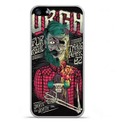 Coque en silicone Apple iPhone SE - Skull Urgh