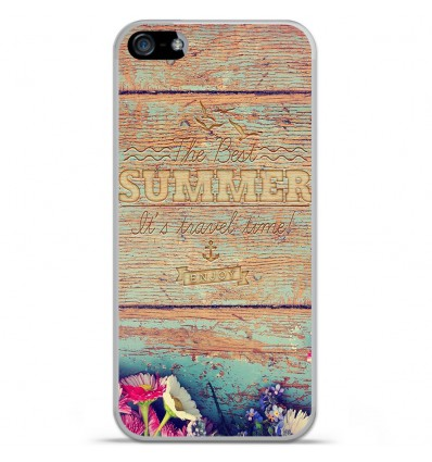 Coque en silicone Apple iPhone SE - The best summer