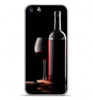 Coque en silicone Apple iPhone SE - Vin