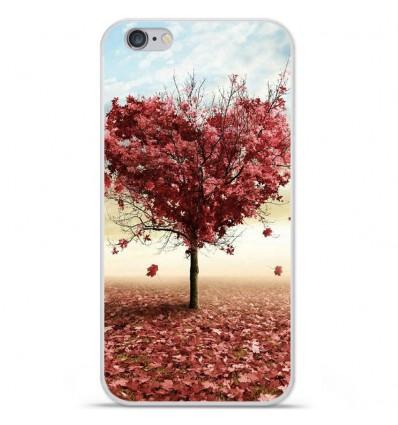 Coque en silicone Apple iPhone 6 / 6S - Arbre Love