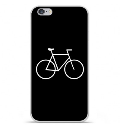 Coque en silicone Apple iPhone 6 / 6S - Bike Hipster