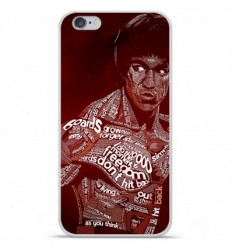 Coque en silicone Apple iPhone 6 / 6S - Bruce lee
