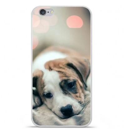 Coque en silicone Apple iPhone 6 / 6S - Chiot rêveur