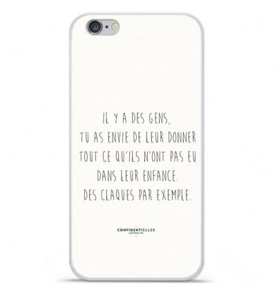 Coque en silicone Apple iPhone 6 / 6S - Citation 01