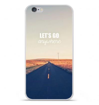 Coque en silicone Apple iPhone 6 / 6S - Citation 03