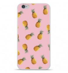 Coque en silicone Apple iPhone 6 / 6S - Pluie d'ananas