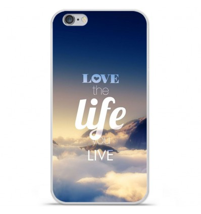Coque en silicone Apple iPhone 6 / 6S - Citation 06