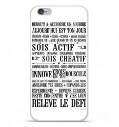 Coque en silicone Apple iPhone 6 / 6S - Citation 11