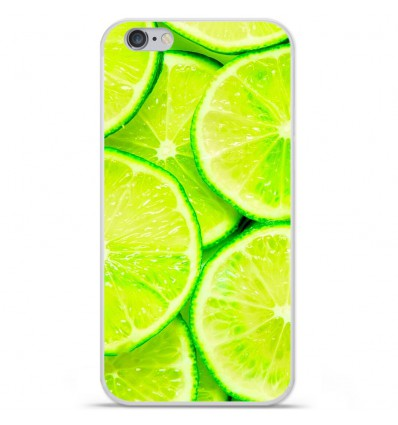 Coque en silicone Apple iPhone 6 / 6S - Citron