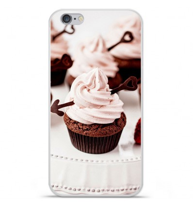 Coque en silicone Apple iPhone 6 / 6S - Cup Cake