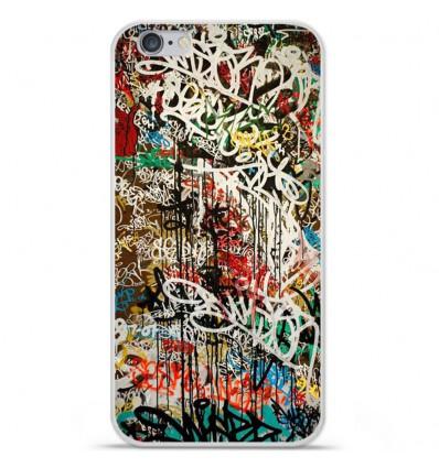 Coque en silicone Apple iPhone 6 / 6S - Graffiti 1