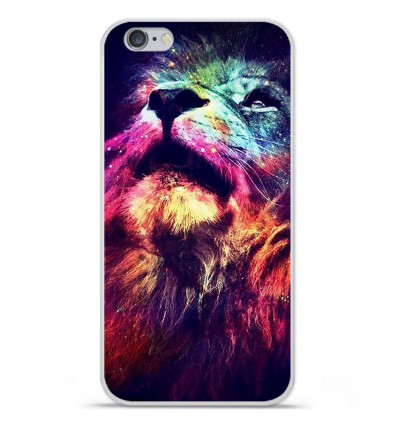 Coque en silicone Apple iPhone 6 / 6S - Lion swag