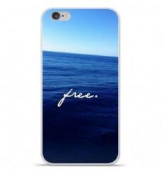 Coque en silicone Apple iPhone 6 / 6S - Océan free